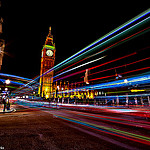 Neon Westminster London City - Blended by Simon & His Camera by Simon & His Camera
