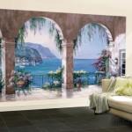 Sung Kim Mediterranean Arch 壁紙ミューラル