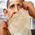 Barack Obama - NDAA Legacy by DonkeyHotey