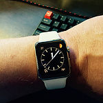 Apple Watch, 42mm, stainless steel by blakespot