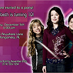 iCarly Birthday Invitation by Kid