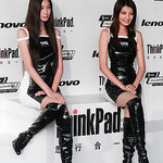 2008 F1 Chinese GP * Dual ThinkPad Girls by jiazi