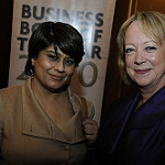 Shriti Vadera and Lynda Gratton by Financial Times photos